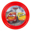 Cars Disney PLASTIC PLATE 20cm 3D McQueen and Cruz