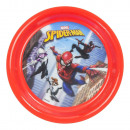 Spiderman PLATOS DE PLASTICO 20cm 3D