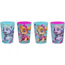 Paw Patrol set of 4 plastic cups
