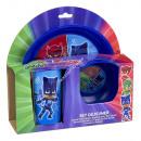 PJ Masks 3-teiliges Kinder Geschirrset