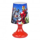 Avengers lampara de la mesilla