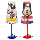 wholesale Lampes: Mickey Mouse bedside lamp - conical lamp 38 cm