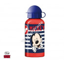 Mickey Mouse aluminium bottle with stripes