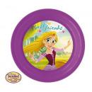 wholesale Party Items: Princess PLASTIC PLATE 20cm 3D