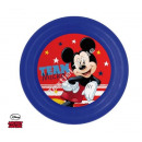 Mickey Mouse PLASTIC PLATE 20cm 3D