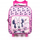 Minnie Mouse trolley backpack for kids hearts 45 c