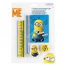 Minions 5 stuck briefpapier set