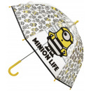Minions transparent umbrella