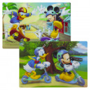 Disney characters placemat 3D