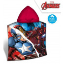 wholesale Licensed Products: Avengers Hooded poncho verlour