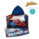 wholesale Coats & Jackets:Spiderman Hooded poncho