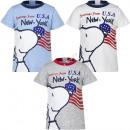 Snoopy bebé camiseta manga corte