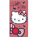 Hello Kitty velour beach towel