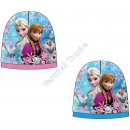 Frozen Disney hats polar fleece L Blue / Pink