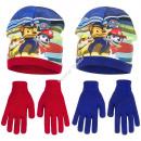 Paw Patrol mutze mit handschuhe
