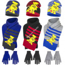 Pokemon hat scarf and gloves