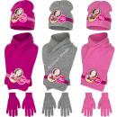 Soy Luna bonnet scarf and gloves