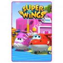 Super Wings Fleecedecke