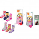 mayorista Calcetines y Medias:Minions calcetines