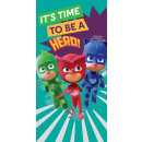 PJ Masks velour beach towel