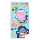 Peppa Pig velour beach towel Underwater