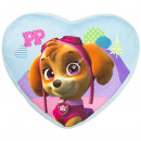 Paw Patrol Heart Shaped Pillow