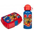 Paw Patrol aluminium bottle with lunchbox Paw Patr