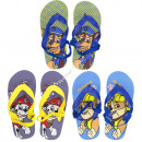 Paw Patrol Flip Flops with ankle strap