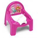 La Pat' Patrouille chaise pot rose