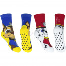 Paw Patrol 2 pack full terry socks with abs