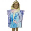 Die Eiskönigin - Frozen Badeponcho mit kapuze velo