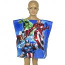 Avengers Poncho de playa terciopelo