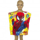 Spiderman Badeponcho velours