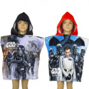 Star Wars Hooded poncho velour