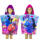Finding Dory Hooded poncho velour Dory & Nemo