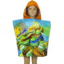 wholesale Coats & Jackets: Turtles Velour hooded poncho