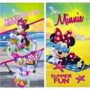 Minnie toalla de terciopelo playa