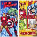 Avengers sammet strandtuch