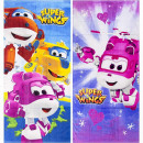 Super Wings toalla de terciopelo playa