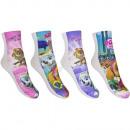 Großhandel Socken & Strumpfhosen:Paw Patrol 2 pack socke