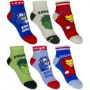 Avengers 3 pack calcetines de tobillo