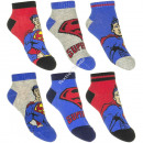 Superman 3 pack calcetines de tobillo