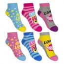 Soy Luna 3 pieces chaussettes invisibles