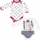 Mickey Mouse 2 pack baby bodysuits CHIC