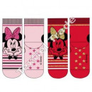 Minnie full terry socks with abs