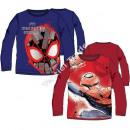 Spiderman maglietta a maniche lunghes