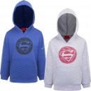 grossiste Pulls et Sweats:Superman Sweat Capuche