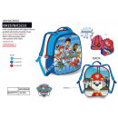 Paw Patrol backpack front & back printed