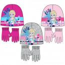 Frozen Disney hats and gloves Elsa