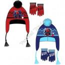 Spiderman hats and gloves fleece